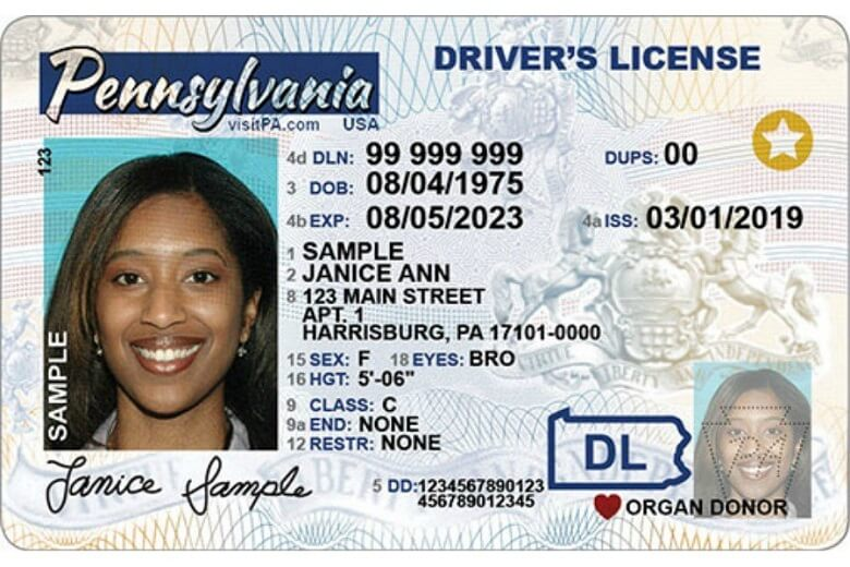 real ID card